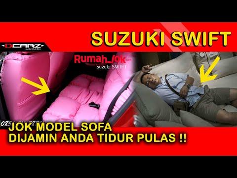Video Desain Jok Mobil dan Modifikasi Plafon Suzuki Swift Model Garson