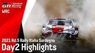 TGR WRT Rally Italia Sardegna 2021 - Day 2 Highlights