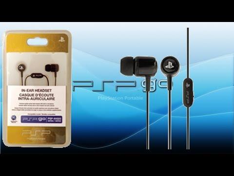 Unboxing Sony PSP Go In-Ear Headset [Manjoume]
