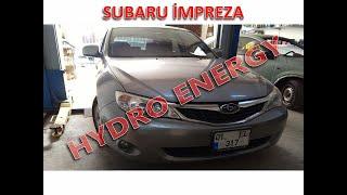 Subaru İmpreza hidrojen yakıt tasarruf sistem montajı