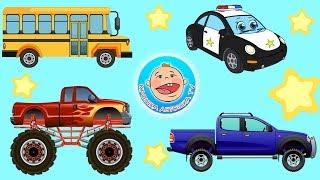 Машинки - 4 истории про виды транспорта. 5 - серия