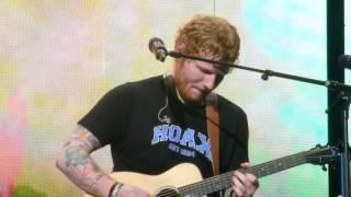 """Ed Sheeran """"Nancy Mulligan"""" St.Paul,Mn 7/1/17 HD"""