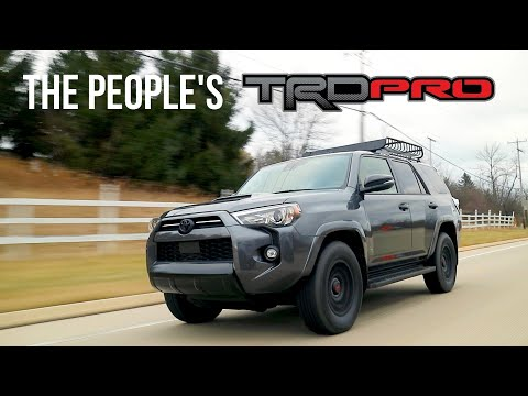 The 2021 Toyota 4Runner Venture Edition Is The TRD PRO For 90% Of People