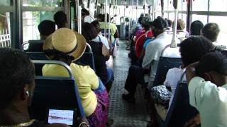 preview picture of video 'Barbados Bus Ride'