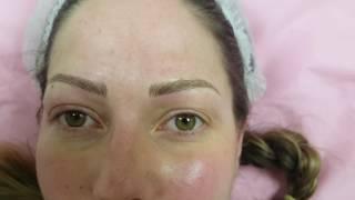 Fluffy Messy Eyebrows Microblading by El Truchan
