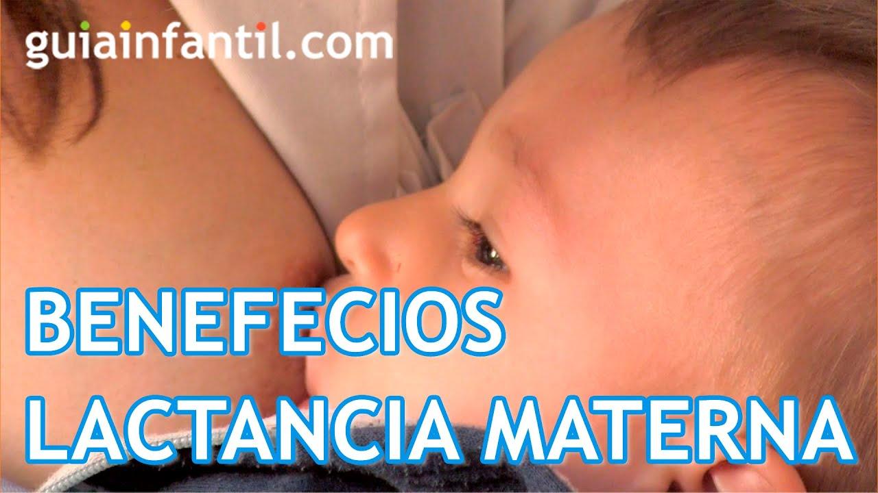 Beneficios de la lactancia materna para el bebé