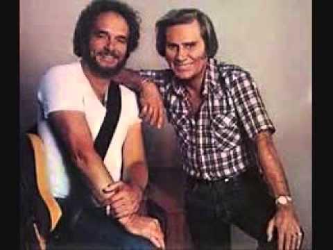 George Jones - Yesterday's Wine (with Merle Haggard)