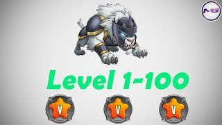 Cloud Level 1-100 Skills + Battle - Monster Legend