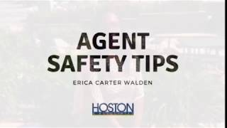 Agent Safety Tips