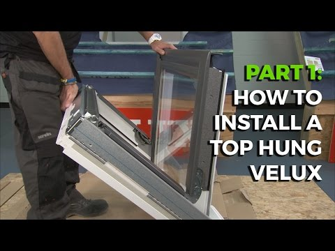 How to install a Velux Top-Hung Roof Window - Part 1