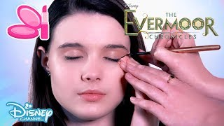 The Evermoor Chronicles | Fashion Tutorial: Party Style Face Glitter ✨ | Disney Channel UK