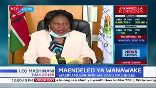 Maendeleo ya wanawake wsifu muungano wa KANU na jubilee