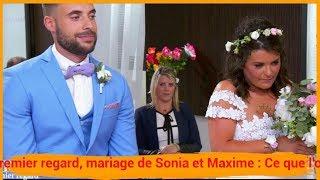 Mariés Au Premier Regard, Mariage De Sonia Et Maxime : Ce Que L'on N'a Pas Vu