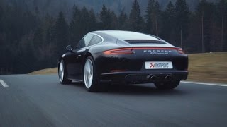Akrapovič  Titanium Exhaust:  911 Carrera 4S (991.2)