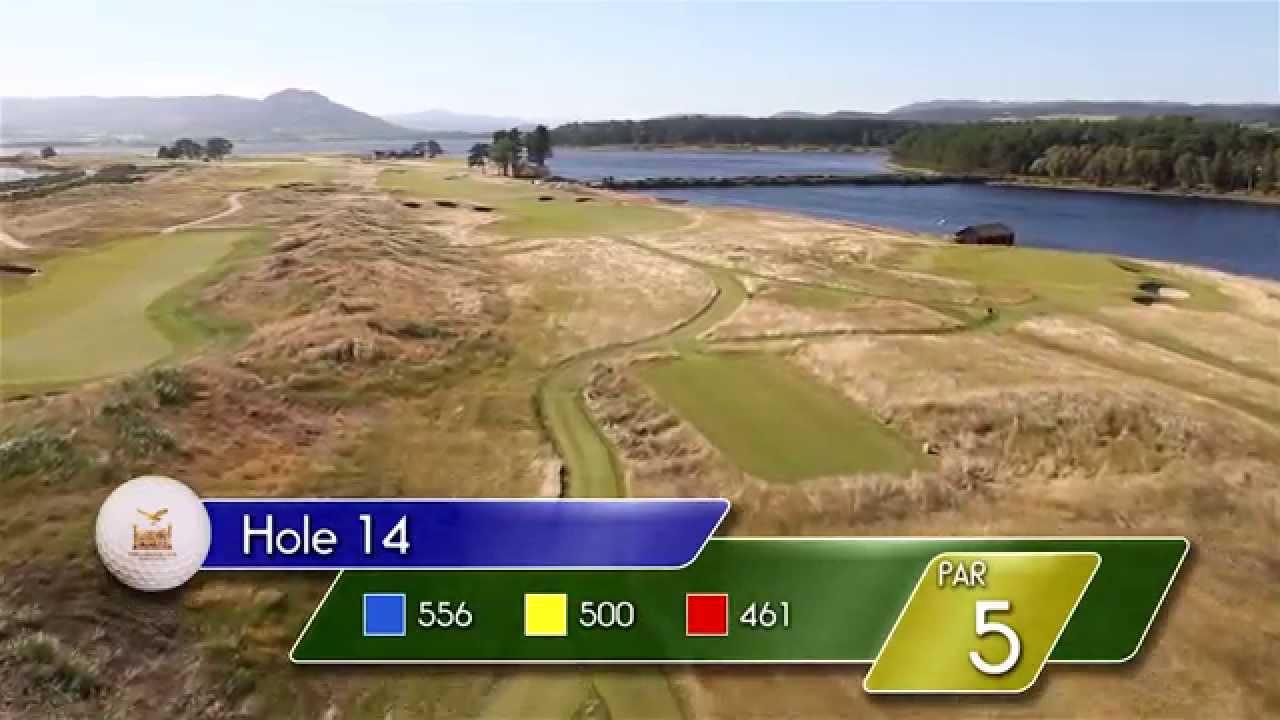 Carnegie Links Hole 14 - YouTube video