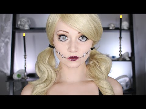 Halloween Doll Makeup Tutorial | No Body Paint Needed!