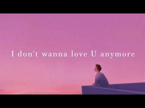 LANY ~ I Don't Wanna Love You Anymore (Lyrics)