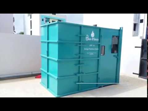 Hotel & Resort Containerized Sewage Treatment Plant