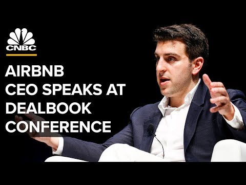 Airbnb CEO Brian Chesky speaks at New York Times DealBook Conference – 11/6/2019