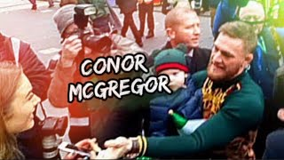 Conor McGregor Surprises IRISH Fans at St Patricks Day Parade 2018