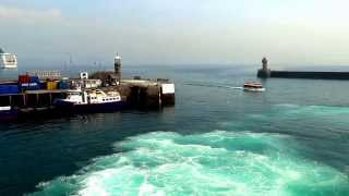 preview picture of video 'Arrival by Condor in St Peter Port Guernsey August 2013'