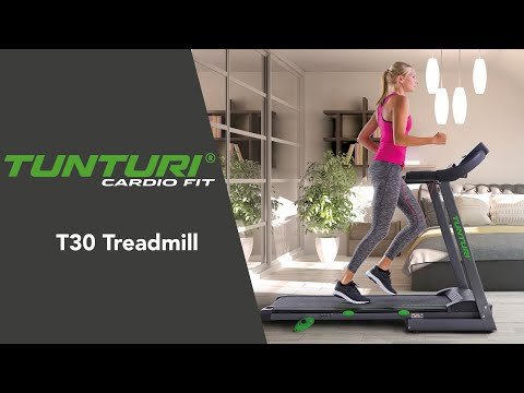 Promovideo: Běžecký pás TUNTURI Cardio Fit T30