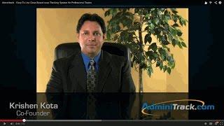 AdminiTrack video