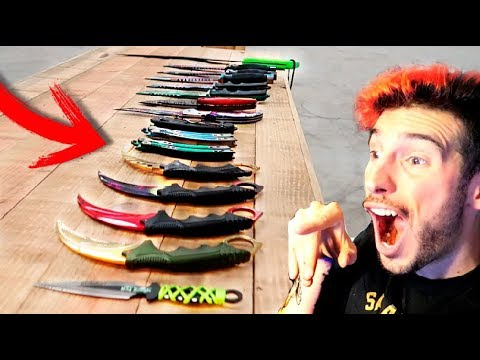 CUCHILLO FLIP CHALLENGE #3 EL MEJOR RETO DE CUCHILLOS Flippy Knife MAKIMAN