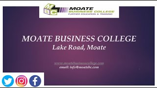 Moate Business College