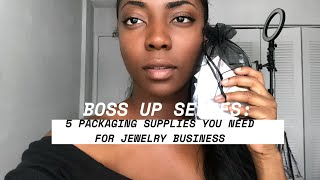 5 Packaging Supplies You Need For Your Jewelry Brand