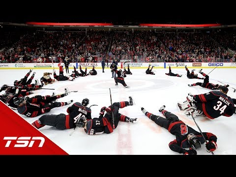 Justin Williams explains thought process behind Hurricanes' Storm Surge