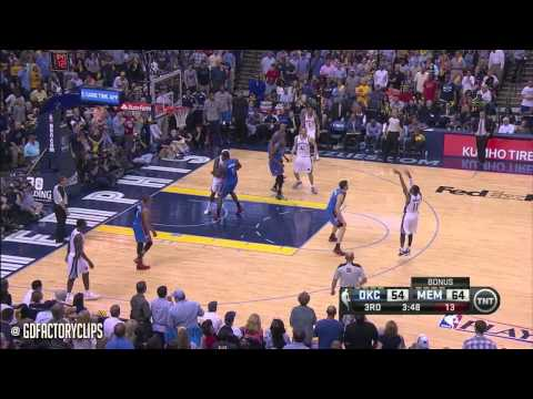 Mike Conley Full Highlights vs Thunder 2014 Playoffs West R1G3 – 20 Pts SICK!