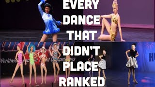 Dance Moms - Ranking EVERY Dance That Didn't Place