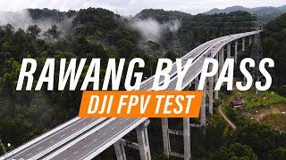DJI FPV MALAYSIA - FIELD TEST [LOW LIGHT, LIGHT RAIN]