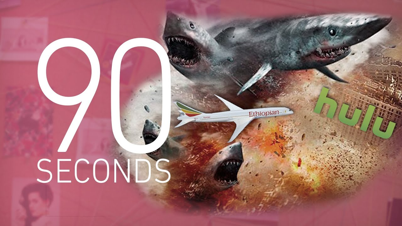 'Sharknado,' Hulu, and the Boeing 787 Dreamliner: 90 Seconds on The Verge thumbnail