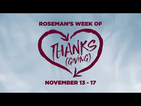 Week of Thanksgiving 2017