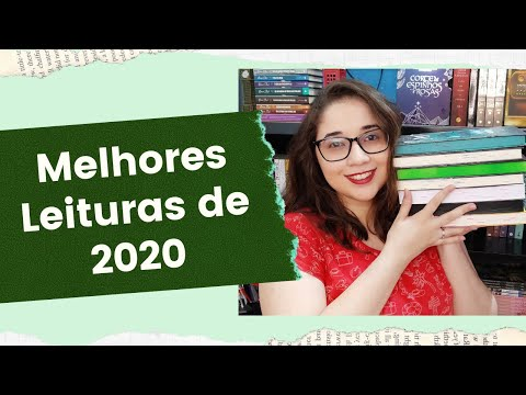 TOP 7 DAS MELHORES LEITURAS DE 2020 ?? | Biblioteca da Rô