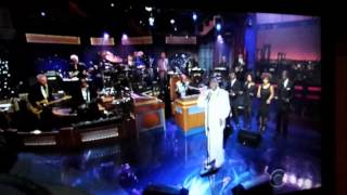 AL Green on the David Letterman Show