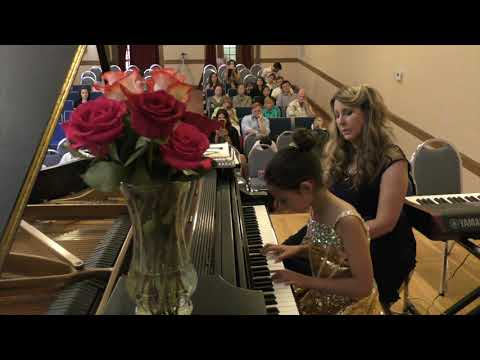 Matoush Melodies Fall 2017 Recital student performing her original composition.