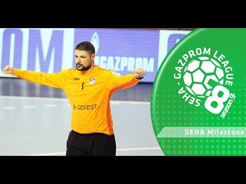 SEHA Milestone: Ivan Pesic's 600th League save