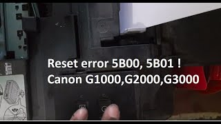 canon g1000 printer reset without using service tool - Thủ thuật máy