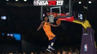 NBA 2K19 - CRAZY DUNK CONTEST! - DONOVAN MITCHELL, JASON TATUM, CHRISS!