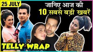 Yuvika SLAPS Prince, Hina Khan NEW Kashmiri Look, Nakuul Mehta Rickshaw Ride | Top 10 Telly News