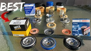 The best oil filter wix, Acdelco or Bosch?