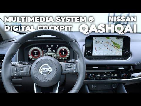 New Nissan Qashqai Multimedia System & Digital Cockpit 2022