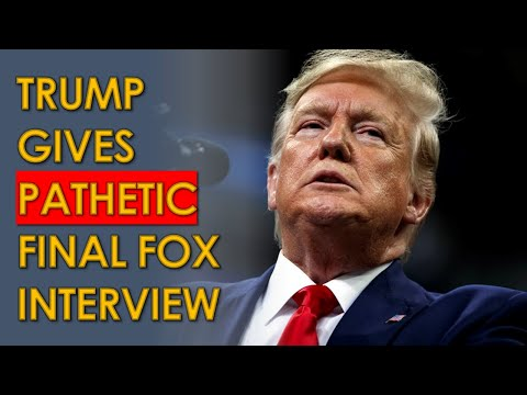 Trump ATTACKS Fox News in PATHETIC Final Fox and Friends Interview