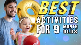 BEST Activities for 9 Month Old Baby   Bailey's Dad