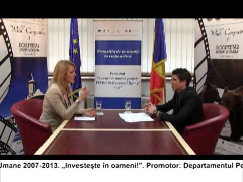 (VIDEO) Locuri de muncă pentru TINEri în București Ilfov și regiunea Vest – DARIUS VODA (E24)