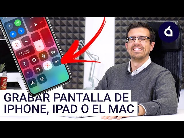 CÓMO GRABAR LA PANTALLA DEL IPHONE, IPAD O MAC 2019 | Los Tutoriales de Applesfera