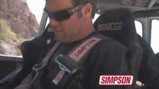 Simpson's 5 Point Harness in Action